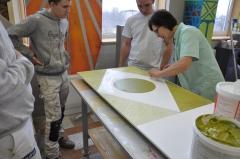 BTP CFA du Loiret, BTP CFA CENTRE, ERASMUS+,Tallinna Ehituskool, Tallin, BTP-MOBILITE+ 2016-18, Brevet Professionnel à Composante Européenne peintre, BPCE peintre